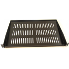 1U 200mm Deep Black Shelf ( For 300mm Deepo Cab)