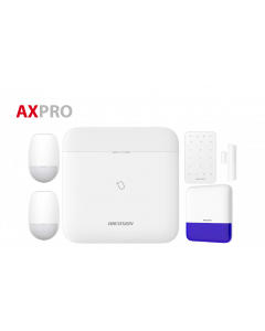 Hikvision AX Pro Wireless Alarm Kit - Bundle 3