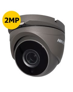 Hikvision DS-2CE56D8T-IT3ZE-G 2MP Turbo Low Light Turret, Motorised 2.8-12mm, 40m IR, POC, Grey