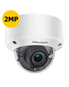 Hikvision DS-2CE56D8T-VPIT3ZE 2MP Turbo Low Light A/V Dome, Motorised 2.8-12mm, 40m IR, POC