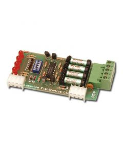 Luminite 4 zone Relay Expansion Module for RX16