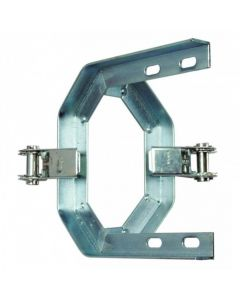 "9"" Double Stack Strap Ratchet Cradle Bracket Galvanised"