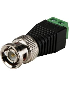 BNC Male Connector With Screw Terminal
