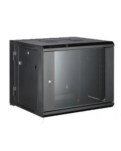 All-Rack Wall Mount Cabinet - 9U 550mm Deep *2 Part/ Hinged*