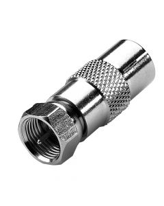 (100) Male F Connector To Female IEC Adaptor