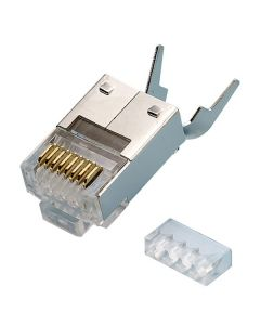 Shielded CAT6 RJ45 Male Crimp Plug