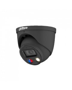 Dahua DH-IPC-HDW3849HP-AS-PV-G - TiOC 8MP Full-color Active Deterrence Fixed-focal Eyeball WizSense Network Camera - 2.8mm, Grey