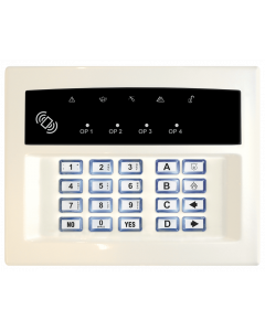 Pyronix LEDRKP/WHITE-WE Wireless Arming Station