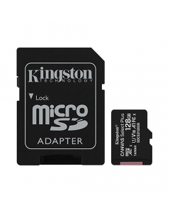 Kingston 128GB MicroSD Card + Adapter to SD Included