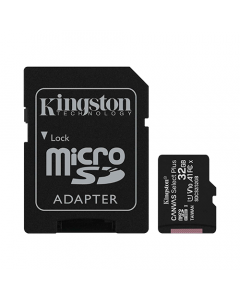 Kingston 32GB MicroSD Card + Adapter to SD Included