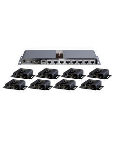HDMI0108SCAT 8 Way HDMI Splitter/Extender