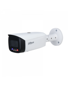 Dahua DH-IPC-HFW3549T1P-AS-PV - TiOC 5MP Full-color Active Deterrence Fixed-focal Bullet WizSense Network Camera - 3.6mm