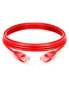 0.25M CAT6 LSZH Snagless Copper Patch Lead - Red