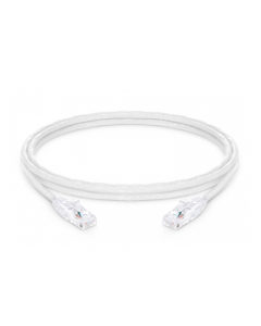 CAT6 LSZH Snagless Copper Patch Lead - White