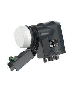 VISIBLE WAVE HYBRID LNB 6 Outputs (2 W/B 4 QUAD) with mk4 Bracket