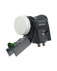 VISIBLEWAVE VW2L Wideband LNB Compatible with Sky Q Rec with mk4 Bracket