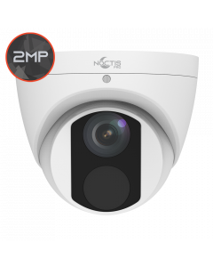 Noctis Pro NP-C-T2E30-28 2MP, 2.8mm Fixed Lens, 30M IR, White IP Turret