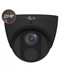 Noctis Pro NP-C-T2E30-28-B 2MP, 2.8mm Fixed Lens, 30M IR, Black IP Turret