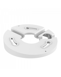 Noctis Pro NP-M-AB-D109 White Angle Base for Domes & Mini Domes