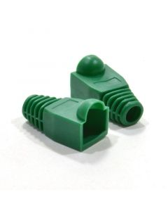 RJ45 Boot  For CAT5e / CAT6 Connectors - Green