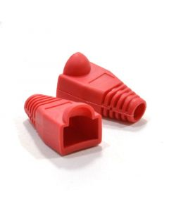 RJ45 Boot  For CAT5e / CAT6 Connectors - Red