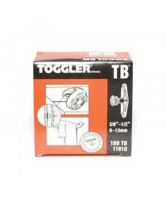 Toggler TB Hollow Wall Anchor HWA 10mm - 13mm