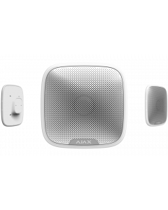 Ajax StreetSiren - External, Weather Resistant, Customisable Audible Alarm (White)