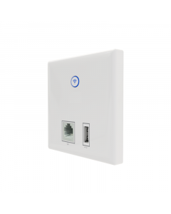 Clear Flow WAP D In-wall Dual Band Access Point with USB - 750Mbps