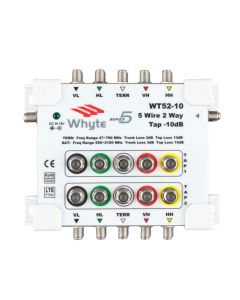 Whyte Series WT52-10 5 Wire 2-way tap - 10dB