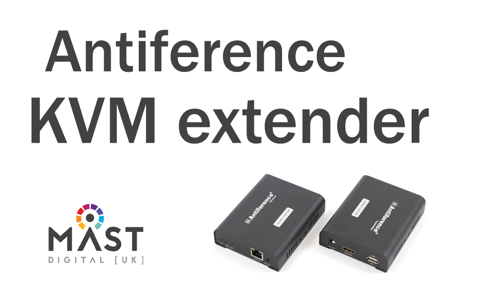 Antiference Video and USB over Ethernet extender