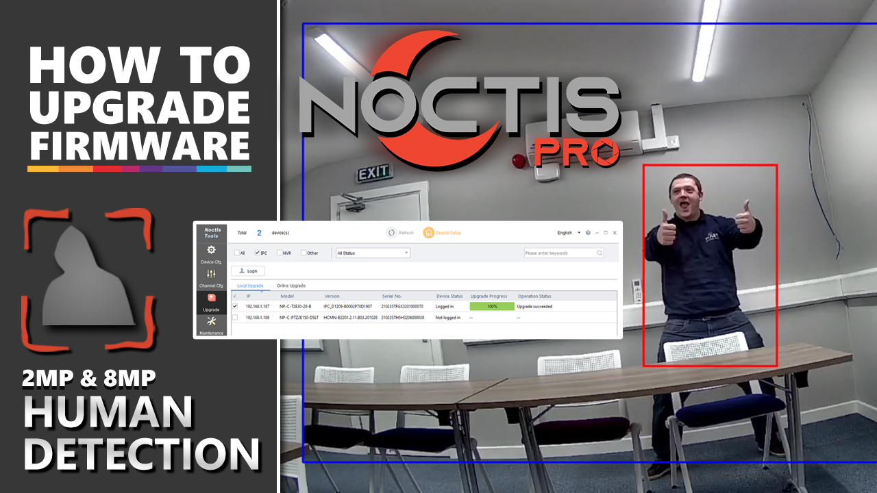 Noctis Pro: Human Body Detection is here!