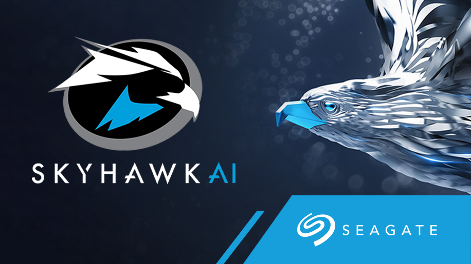 We are proud new partners of Seagate & Skyhawk Surveillance Hard Disk Drives!