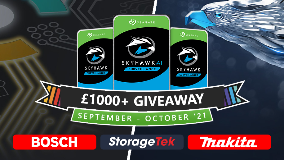 Our biggest giveaway to date (Over £1K Value) #PoweredBySeagate