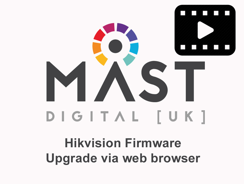 Hikvision NVR Firmware upgrade