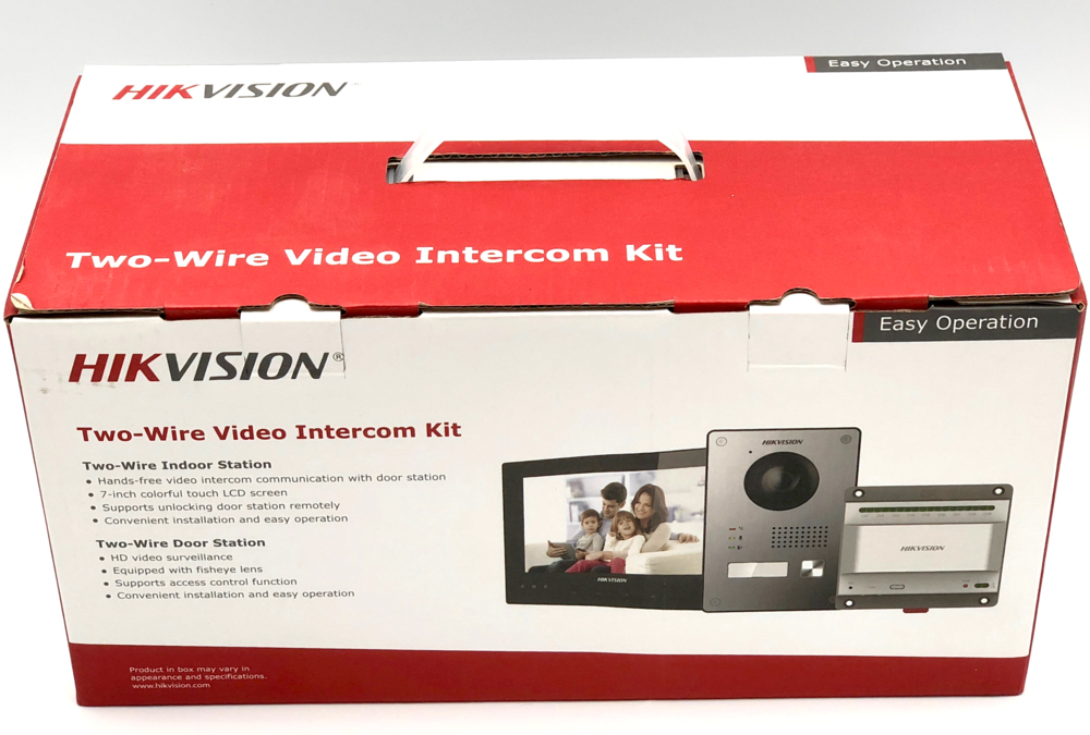 Hikvision 2-wire Intercom (DS-KIS701) Unboxing and Initial Set-up video.