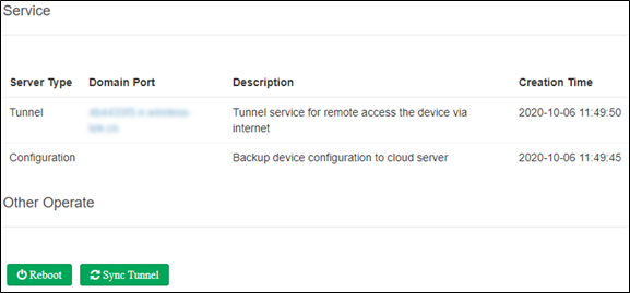 Wi-Tek Cloud Manager Tunnel