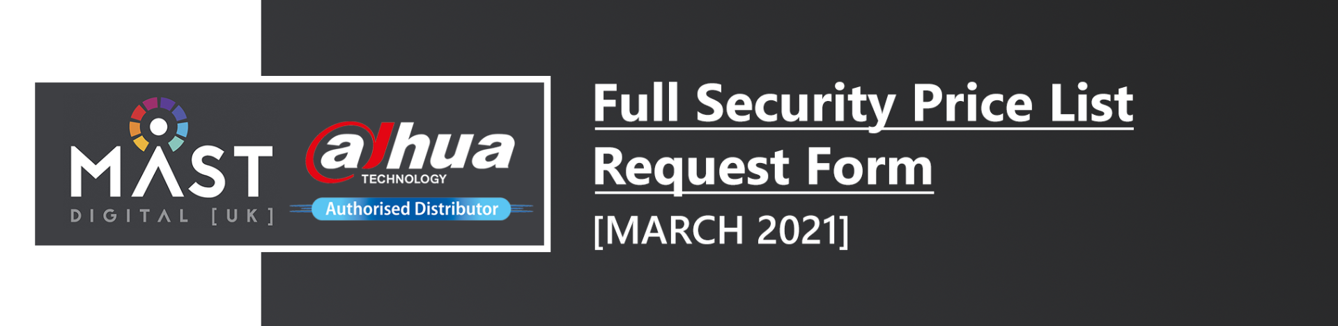 Full Security Price List Request Form - March 2021